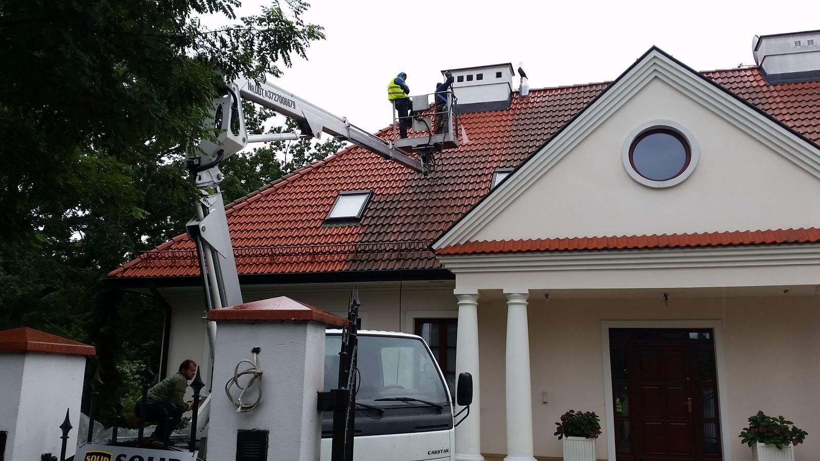 08. Czyszczenie dachu
