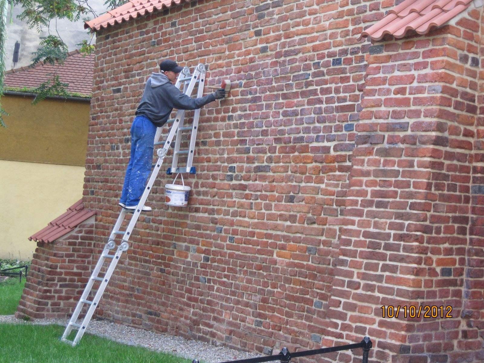 16 Tarnów - Hydrofobizacja i zabezpieczenie antygraffiti zabytkowych murów miejskich